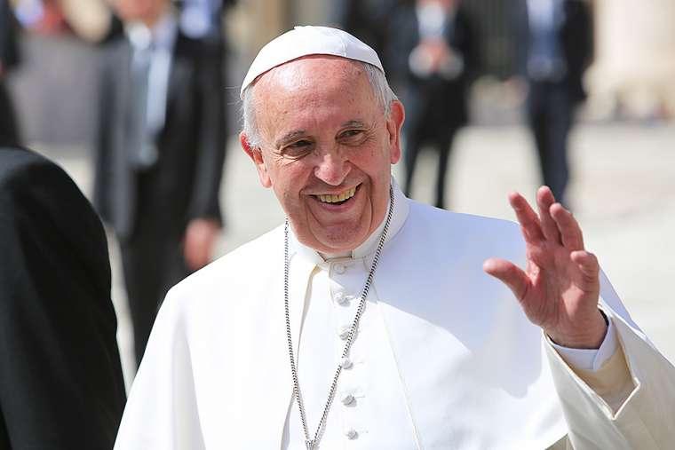 """Papa Francisco: """"Dios hace milagros en Medjugorje, está la gracia, y no se puede negar""""."""