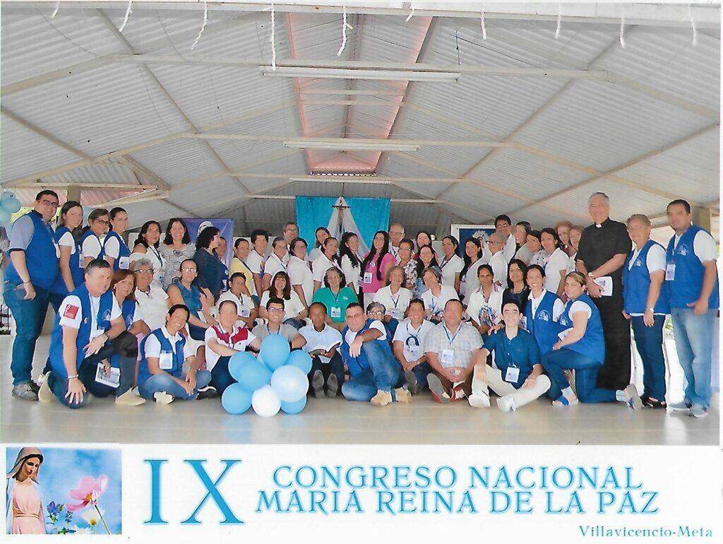 Termina el IX Congreso Nacional de María Reina de la Paz en Villavicencio, Colombia