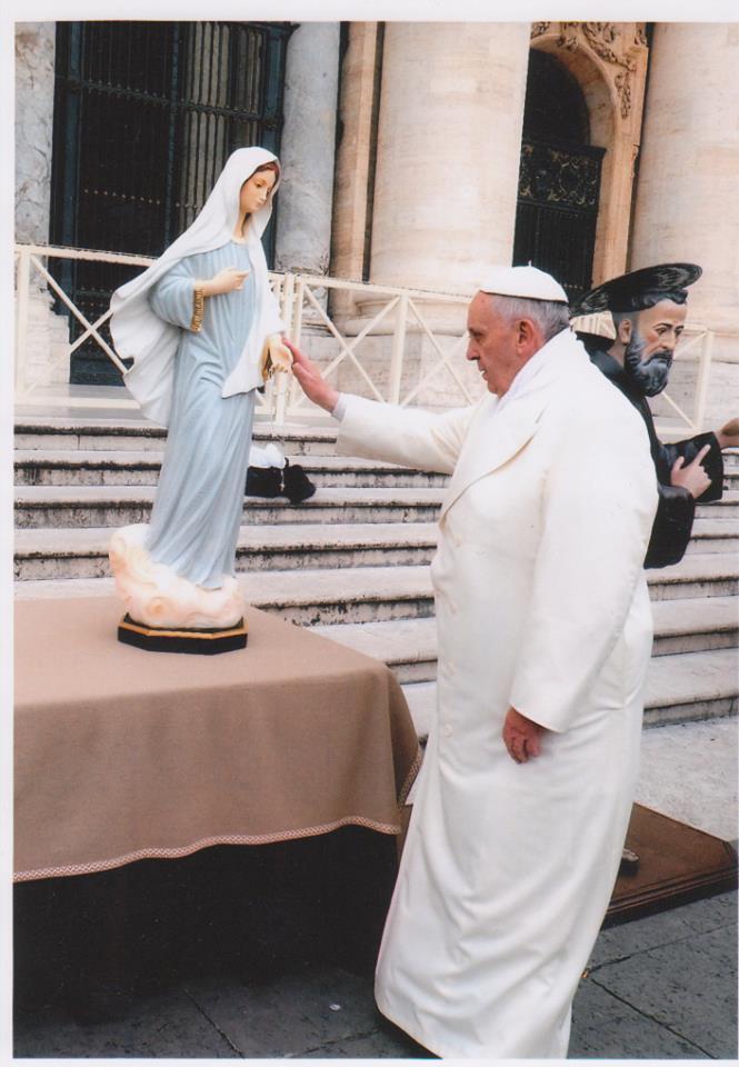 """El Papa dice a Chiara Amirante: """"Tengo a Medjugorje en el corazón, muy en el corazón"""""""
