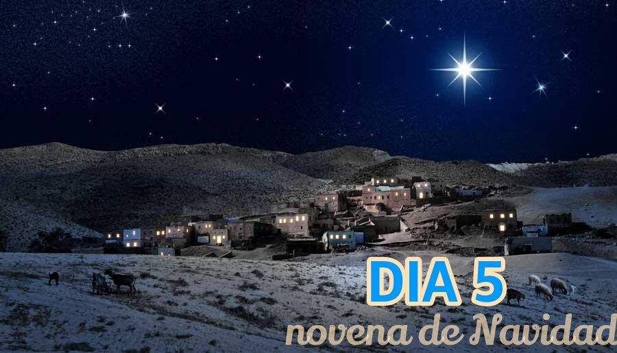 Novena de Navidad – Día 5