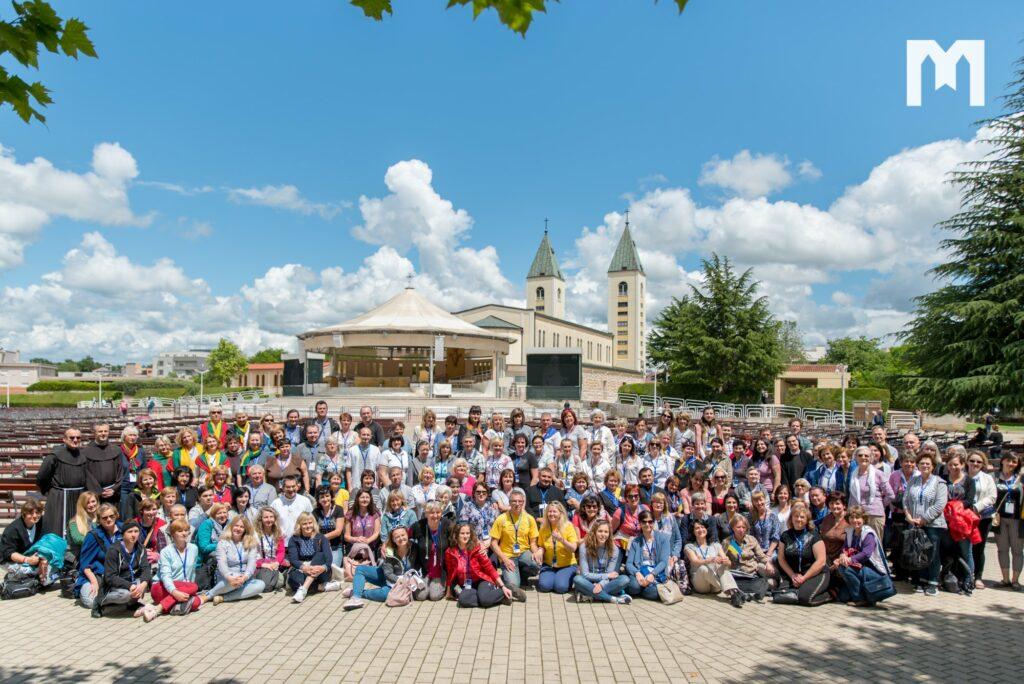 Retiro espiritual que se llevó a cabo en Medjugorje reunió a más de 150 personas de 13 países