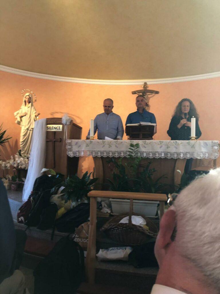 Mensaje extraordinario de la Virgen María Reina de la Paz del 5 de septiembre de 2019, a un grupo de sacerdotes por medio de Ivan. Medjugorje Bosnia-Herzegovina